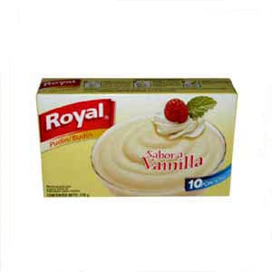Pud�n Royal de Vainilla x 110 grs. - Cod:ABX04