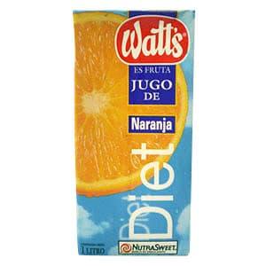 Watts de Naranja Diet de un 1 Lt | Watts - Cod:ABZ06