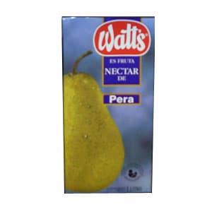 Watts Néctar de pera x 1lt **Watts** | Watts de Pera - Cod:ABZ11
