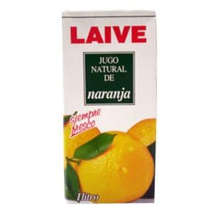Jugo Laive Natural de Naranja 1 Lt | Jugo de Naranja - Cod:ABZ13