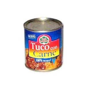 Tuco con Carne Hoja Redonda x 230grs. - Cod:ACE19