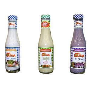 El Olivar salsas caseras x200gr - Cod:ACE30
