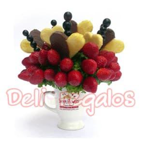 Frutero para regalo en taza - Codigo:ACI03 - Whatsapp: 980-660044.