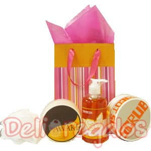lafrutita.com- Regalo basico Scrub - Fresas con chocolate a domicilio y Arreglos Frutales - Whatsapp: 980660044