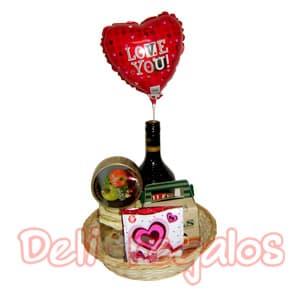 Canasta de regalo Eres para m� - Codigo:ACI15 - Whatsapp: 980-660044.