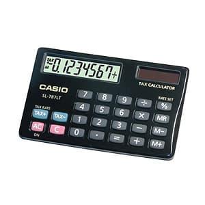 I-quiero.com - CALCULADORA CASIO - SL-787TV-BK-W-DH - Codigo:ACM02 - Detalles: CALCULADORA CASIO - SL-787TV-BK-W-DH - 8 DIGITOS - CUBIERTA METALICA - SOLA Y PILAS - TAX + / - - PANTALLA LCD - DE BOLSILLO * GARANTIA 06 MESES  - - Para mayores informes llamenos al Telf: 225-5120 o 476-0753.