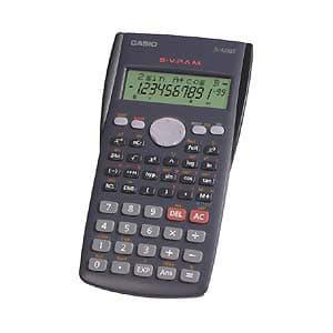 I-quiero.com - Calculadora Cient�fica FX-82MS CASIO - Codigo:ACM07 - Detalles: C�lculos estad�sticos y fraccionarios incorporados 9 memorias. Teclado pl�stico a pilas.  - - Para mayores informes llamenos al Telf: 225-5120 o 476-0753.