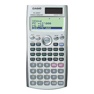 I-quiero.com - CALCULADORA CASIO - FC-200V - Codigo:ACM10 - Detalles: CALCULADORA CASIO - FC-200V - PANTALLA DE 4 LINEAS X 10 DIGITOS - CALCULO DE INTERES SIMPLE Y COMPUESTO - DEPRECIACION, BONOS, PUNTO DE EQUILIBRIO - IRR, VPN, SIN, COS, LOG, EXP - VENTA, MARGEN DE GANANCIA,ESTADISTICA * GARANTIA: 06 MESES  - - Para mayores informes llamenos al Telf: 225-5120 o 476-0753.