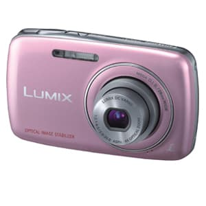 Grameco.com - C�mara Digital Panasonic -DMCSD-S1PA - Codigo:ACN04 - Detalles: DMCSD-S1PA-Resolucion 12 megapixeles-Zoom optico 4X-Reconocimiento automatico de escenas-Estabilizador optico-Gran angular de 28mm-Video en HD para PC-Funcion de ayuda panoramica-Color rosado-Bateria YN101H-Garantia:12 meses  - - Para mayores informes llamenos al Telf: 225-5120 o 476-0753.