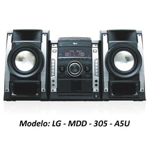 MINICOMPONENTE LG - MDD-305-A5U | Minicomponente - Cod:ACU09