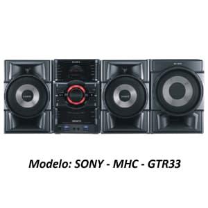 MINICOMPONENTE SONY - MHC-GTR33 - Cod:ACU10