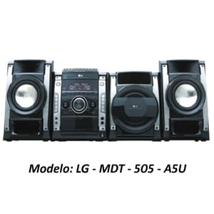 MINICOMPONENTE LG - MDT-505-A5U | Minicomponente - Cod:ACU14