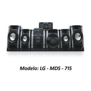MINICOMPONENTE LG - MDS-715 | Minicomponente - Cod:ACU15