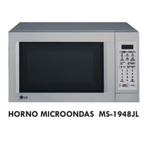 HORNO MICROONDA LG - MS-1948JL | Horno Microonda - Cod:ACW06