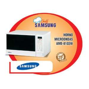 HORNO MICROONDA SAMSUNG - AME-8103W | Horno Microondas - Cod:ACW09