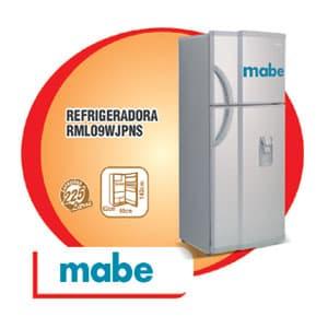 REFRIGERADORA MABE - RML-09WJPNSO | Refrigeradoras Peru - Cod:ADF04