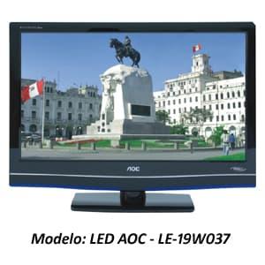 TELEVISOR LED AOC - LE-19W50379 | Televisores Peru - Cod:ADJ01