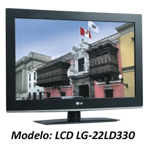 TELEVISOR LCD LG - 22LD330 | Televisores Peru - Cod:ADJ02