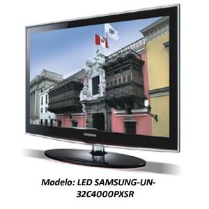 TELEVISOR LED SAMSUNG - UN-32C4000PXSR | Televisores Peru - Cod:ADJ07