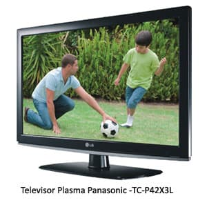 Televisor Plasma Panasonic -TC-P42X3L | Televisores Peru - Cod:ADJ08