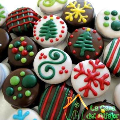Alfajores para Navidad - Cod:AFN01