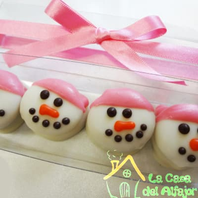 La Casa del Alfajor | Alfajores de muñeco de nieve - Cod:AFN05