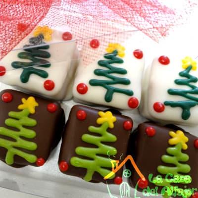 Alfajores arbolitos de navidad - Cod:AFN09