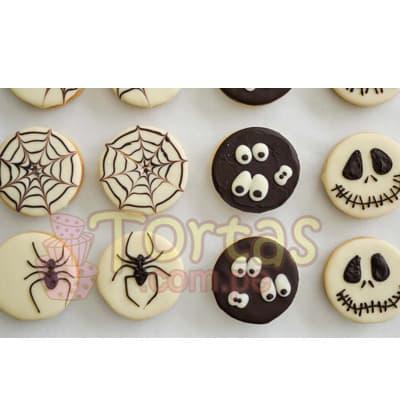 Alfajores de Halloween- Whatsapp: 980-660044