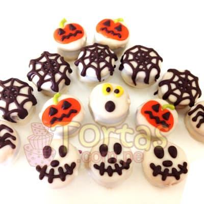 Alfajores para Halloween  - Whatsapp: 980-660044