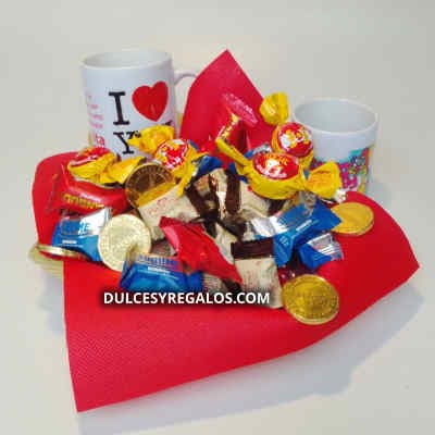 Chocolates | Regalos con Chocolate | Canastas de chocolate - Cod:AMC05