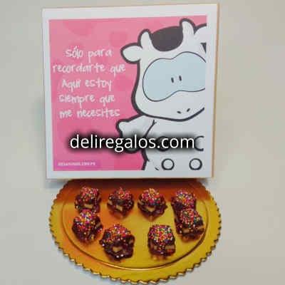 Helena Chocolatier | Chocolates, Tejas y Chocotejas | Dulce sorpresa - Cod:AMC09