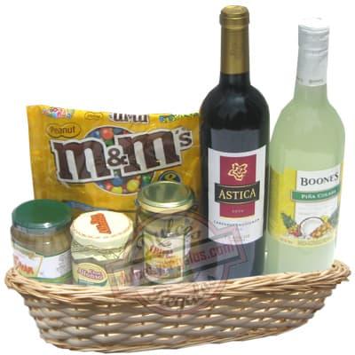 Delivery de Vinos en Lima | Licores Nacionales e Importados | Canasta de Licores - Cod:ANN07