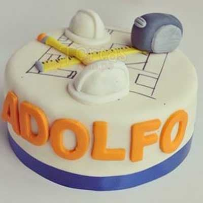 Torta Ingeniero Civil - Cod:ARQ03