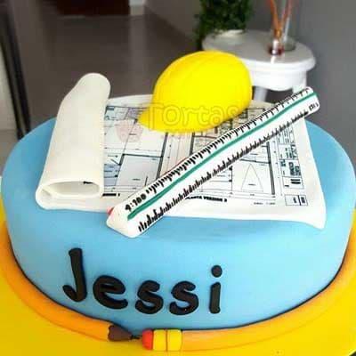 Torta Casco Escalimetro - Cod:ARQ05