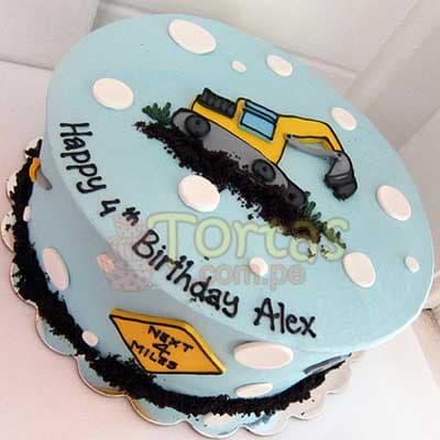 I-quiero.com - Especial 08 - Codigo:ARQ08 - Detalles: Deliciosa torta de keke De Vainilla ba�ada con manjar y forrada con masa elastica de Medida 20 cm  diametro, imagen centro, fotoimpresion,base forrado en papel de aluminio. - - Para mayores informes llamenos al Telf: 225-5120 o 476-0753.
