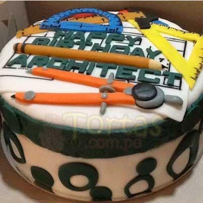Torta Arquitectos - Cod:ARQ12