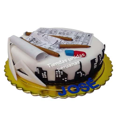 I-quiero.com - Especial 13 - Codigo:ARQ13 - Detalles: Deliciosa torta de keke De Vainilla ba�ada con manjar y forrada con masa elastica de Medida 25 cm diametro,planos seg�n imagen fotoimpresi�n comestible , y demas accesorios en azucar,base forrado en papel de aluminio.  - - Para mayores informes llamenos al Telf: 225-5120 o 476-0753.
