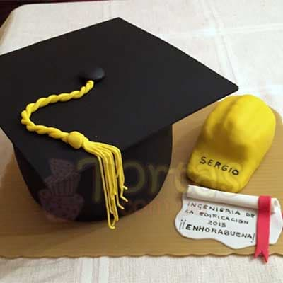 Torta Graduacion Ingeniero - Cod:ARQ15