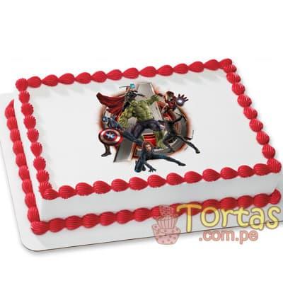 Torta de Avengers - Cod:AVC01