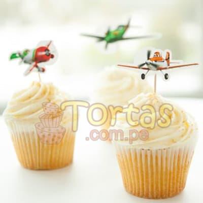Cupcakes Aviones | Muffins Aviones - Cod:AVN08