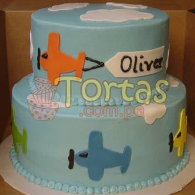 Torta Aviones | Torta Aviones Disney - Cod:AVN09