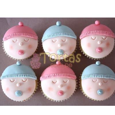 Cupcakes a Recien Nacidos - Cod:BBCO2