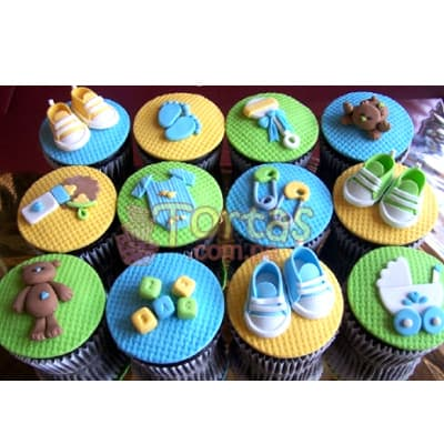 Claudia Cupcakes | Cupcakes para Baby Shower - Whatsapp: 980-660044