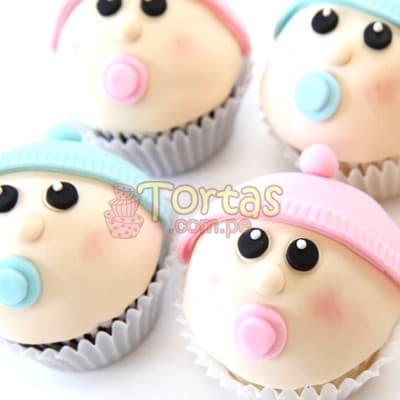 Cupcakes Recien Nacidos - Cod:BBC05