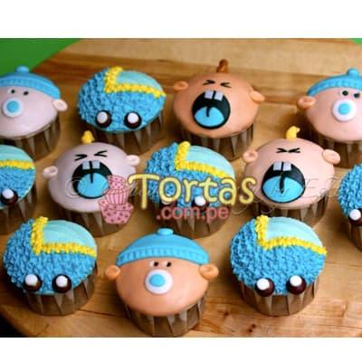 Cupcakes Bebitos llorando - Cod:BBC11