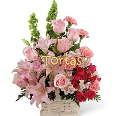 Arreglo Floral para Bebes - Niña - Cod:BBD04