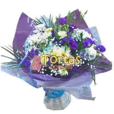 Arreglos Florales | Arreglos de Rosas | Arreglo Floral para Bebes para Hombrecitos - Cod:BBD09