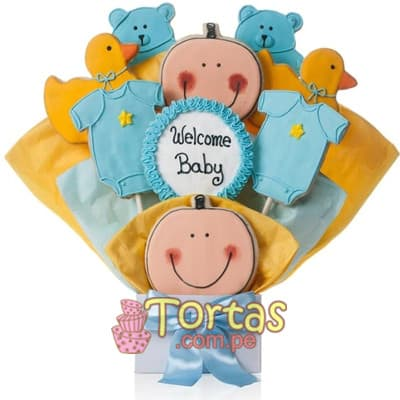 Galletas Decoradas Delivery | Galletas Decoradas para Beba Shower - Whatsapp: 980-660044