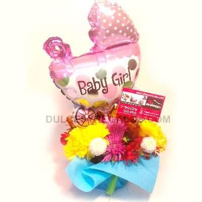 Arreglo para Recien Nacidos | Regalos para Bebes - Cod:BBS05