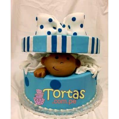 Tortas para Baby Shower | Torta nuevo bebe - Cod:BBT02